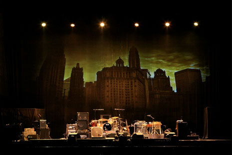 Dunaway Designs and Green Hippo Hippotizer V3 HDs: 2010 Bob Dylan Tour
